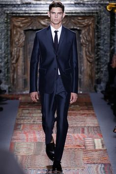 Shiny Suits | Top 5 trends from 2014 Men`s Fashion Week in Paris