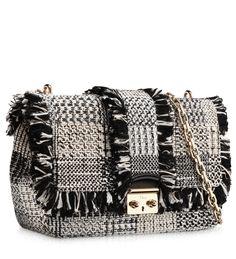 """#MISS DIOR Black & White Tweed """"Miss Dior"""" Bag"""