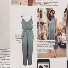 When your brand gets featured in the printed version of @gala_magazin 😬 ❤️ 🇩🇪💃🏻