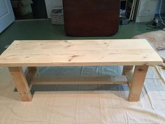 Diy Bench Seat, Diy Wood Bench, Build A Bench, Wood Bench Plans, Wood Benches, Kitchen Table Bench, Dining Table With Bench, Dining Chair, Woodworking Furniture Plans