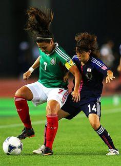 Nayeli Rangel. México vs. Japón. Mundial Sub-20 2012.