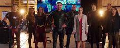 Primer tráiler del mega crossover entre 'Supergirl' 'Arrow' 'The Flash' y 'Legends of Tomorrow'  Noticias de interés sobre cine y series. Noticias estrenos adelantos de peliculas y series