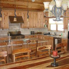 Rustic Cabin Kitchen Decor
