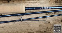 """ALEKA® A6 FLY RODS  (4 Piece - 3 Handle Styles)  The A6 provides the ultimate in lightweight, durable performance rods for catching big fish in both fresh and saltwater.   A6 Fly Rod 9'0"""" (2.74)  #9 A -4  $169.99"""
