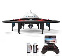 UFO-Inspired Quadcopter Drones