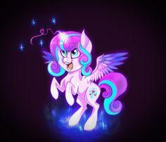 Flurry Heart by stephu-art on DeviantArt Mlp, Flurry Heart, Celestia And Luna, My Little Pony Merchandise, My Little Pony Friendship, Ponies, Fan Art, Deviantart, Cartoon