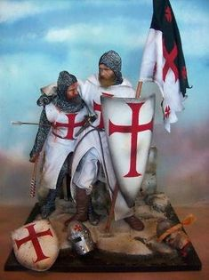 """Brothers in Arms""- Templar Knights Knights Hospitaller, Knights Templar, Knight Orders, Silver Knight, Crusader Knight, Christian Warrior, High Middle Ages, Midnight Rider, Brothers In Arms"