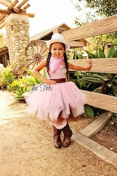 Cowgirl tutu dress Nevaeh would love this