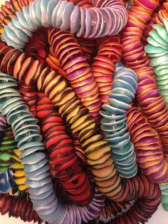 Polymer Clay Lei Tut