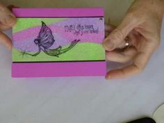 """Creating a """"puzzle"""" type background with glitter, flocking or EP - Fairy Glitter Puzzle.wmv"""