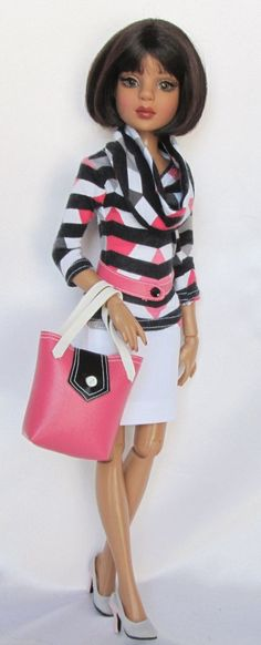 "Look #2 - Mix n Match - She shopped Till She Dropped Yet Again for 16"" Ellowyne Made by Ssdesigns 
