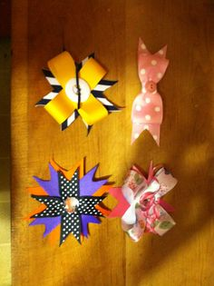 Hair bows for school