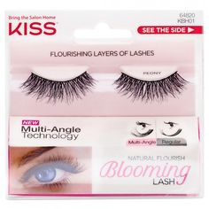 Kiss Blooming Lashes Peony 1 Pair
