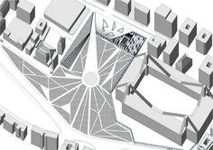 City Hub_FRAMMENTI URBANI_Axonometry