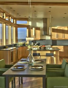 Modular Home Kitchen In Bend, OR   Stillwater Dwellings