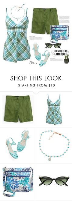 """Dull but Never Boring?"" by shalysa ❤ liked on Polyvore featuring J.Crew, KAROLINA and Vera Bradley"