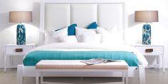 Gorgeous bedroom from Adriana Hoyos