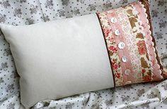 lindas e delicadas almofadas