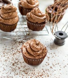Chocolate Whipped Buttercream Frosting. #TheTexasFoodNetwork finding interesting recipes to share with everyone. Come share your recipes with us too on Facebook at The Texas Food Network