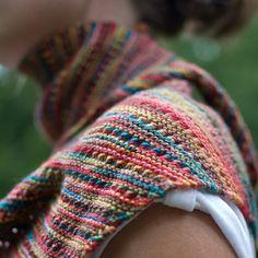 batkus... noro sock yarn...