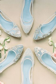 Hottest 2017 Wedding Shoes Trends ❤️ See more: http://www.weddingforward.com/wedding-shoes-trends-2017/ #wedding #shoes #bellabelle
