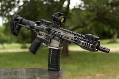 📸 ・・・ 1 of 30 outs. That nickel boron finish is ridiculous… Tyler it's time to get this thing suppressed and on some swine! Weapons Guns, Airsoft Guns, Guns And Ammo, Ar Pistol Build, Ar15 Pistol, Tactical Rifles, Firearms, Shotguns, Custom Guns