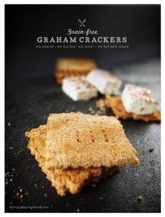 Against All Grain recipe for Honey Graham style crackers. Double recipe for a cookie sheet worth.