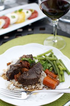 I have recently discovered braised short ribs. How I lived on earth for 40 years without discovering this culinary delight is beyond me. And I call myself a foodie… ANYWAY. Every time I eat out, if braised short ribs are on the menu, then they are on my plate. I absolutely love them. These flavorful, […]