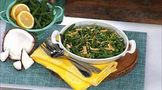 Dr. Travis' Green Beans with Toasted Coconut Recipe #kidfriendly #recipe #healthy #doctorsdiet