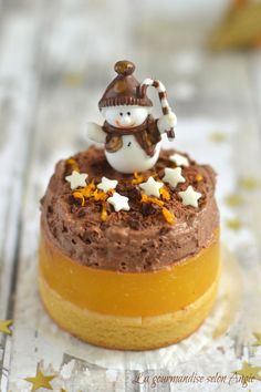 recette noel vegan - entremet farine de lupin, orange & chocolat