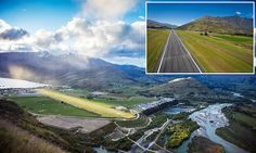 This New Zealand airport has been named the BEST runway view worldwide #DailyMail