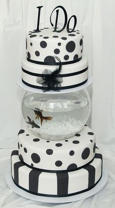 Fish Tank Cake by Say it with Cake, via Flickr