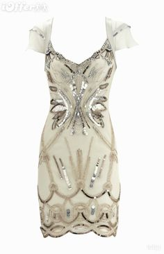 Lindo vestido branco.