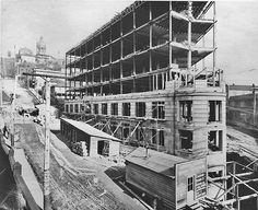 Yesler Building in 1909.  Seattle, WA – History Shared by EaglePest: Seattle and Everett Pest Control https://eaglepesteliminators.com/seattle-pest-rodent-control.html