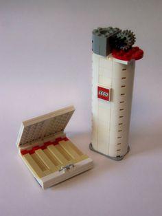 Smoke LEGO? #lego #lighter #marlboro