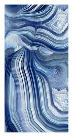 Agate Indigo II Giclee Print by Danielle Carson at Art.com