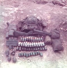 Equipment carried by infantry soldier assigned to the M79 grenade launcher