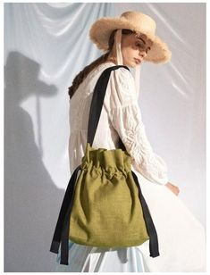 Bag In Bag, Bow Bag, Creation Couture, Linen Bag, Fabric Bags, Clutch, Cute Bags, Cotton Bag, Valentino Garavani