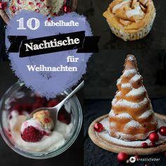 10 Nachtische für Weihnachten