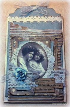 DT card for the Vintage Challenge January