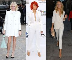 Daring trends for conservative girls: wearing all white.
