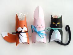 """Sonja z blogu """"ars pro toto"""" podpowiada, jak w prosty i szybki sposób wyczarować unikalne opakowania na drobne prezenty dla dzieci. To nie tylko pomysłowy, ale i tani sposób, który wykorzystuje rolki z papieru toaletowego - dostępne w każdym domu! #niezchinzpasji"""