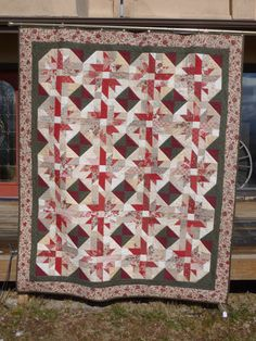French General Star Full Bed Quilt    FREE by RedRoadsterQuilts, $175.00