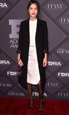 Alexa Chung Splits Opinion With Tights And Sandals
