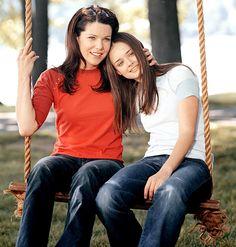 Lauren Graham and Alexis Bledel on Gilmore Girls best show ....