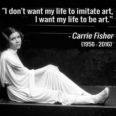 RIP Carrie Fisher #princessleia