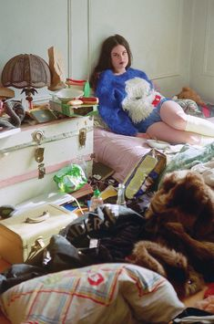 Girls have really messy rooms. Photographer Maya Fuhr