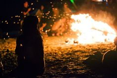 Fire and dreams in Vama Veche