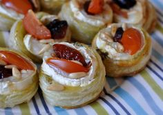 Small antipasto pies
