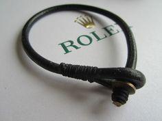 Lederarmband wunderschönes Handmade Leder Accessoires  Uhrenarmband (3) Rolex , Omega,Palerai